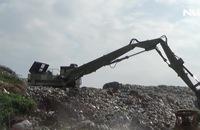 Kinh hoàng bãi rác thải chất cao như núi ở Bạc Liêu