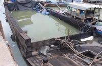 Cả trăm tấn axid clohydric chìm xuống sông Đồng Nai