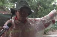 Ghi nhanh từ Cần Giờ: Gió to, mưa lớn kéo dài trước giờ bão đến