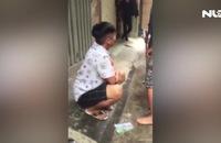 Clip nam thanh niên dùng ống chích cướp xe ôm giữa ban ngày