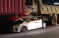 Tai nạn liên hoàn giữa 5 ô tô trên cầu Phú Mỹ