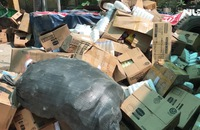 Tiêu hủy hàng gian, hàng giả số lượng lớn trên địa bàn TP HCM