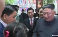 Chủ tịch Kim Jong-un về đến khách sạn Melia, Hà Nội