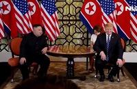 Thượng đỉnh Mỹ-Triều: Tổng thống Trump và Chủ tịch Kim bắt đầu đàm phán riêng