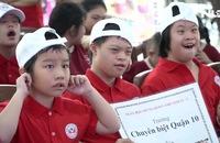 Chương trình thể thao hòa nhập dành cho trẻ khiếm khuyết về trí tuệ tại TP HCM
