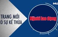 Nhiều thay đổi trên báo in Người Lao Động từ ngày 8-4