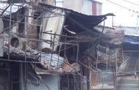 TP HCM: Cháy lớn tại Bình Tân, 5 ki ốt bị thiêu rụi