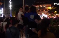 Ghi nhanh: Hàng ngàn người đến chùa Pháp Hoa ngày lễ Phật đản