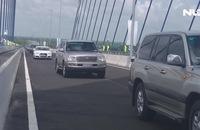 Ghi nhanh: Chính thức thông xe cầu Vàm Cống bắc qua sông Hậu