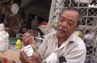 Phóng sự: Xóm chùa gần trăm năm giữ nghề làm tượng
