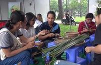 Ghi nhanh: Ống hút làm từ cỏ bàng thân thiện môi trường