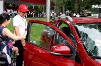 Ô tô thương hiệu Việt Vinfast Fadil đến tay khách hàng