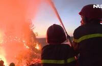 Thừa Thiên – Huế xảy ra nhiều vụ cháy rừng lớn