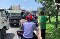 Cửa ngõ TP HCM tê liệt gần 8 giờ, hàng ngàn phương tiện ùn ứ
