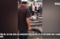 Hiện trường tai nạn thảm khốc ở Hải Dương làm 7 người chết