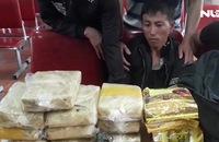 Bắt 2 đối tượng có lựu đạn, vận chuyển 60.000 viên ma túy