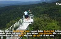 Nhiều trạm dừng chân xây trái phép trên đèo Đại Ninh