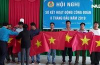 Cờ Tổ quốc vươn khơi cùng ngư dân Phú Quốc