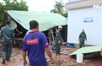 Giông lốc gây nhiều thiệt hại tại Vĩnh Long