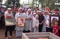 Người dân Lai Vung nghẹn ngào tiễn đưa Đại tá phi công Nguyễn Văn Bảy