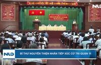 Bí thư Nguyễn Thiện Nhân tiếp xúc cử tri quận 11