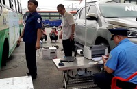TP HCM chốt chặn kiểm tra khí thải ôtô
