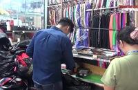 """Đồng loạt kiểm tra chợ Bến Thành và Sài Gòn Square, phát hiện cả ngàn mặt hàng """"dỏm"""""""