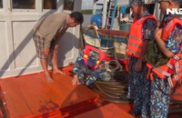 Cảnh sát biển bắt tàu chở 80.000 lít dầu không rõ nguồn gốc
