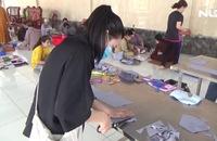 Xúc động Tăng ni, Phật tử may 10.000 khẩu trang vải tặng các bệnh viện
