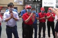 Hội Chữ thập đỏ TP HCM phối hợp tuyên truyền phòng chống Covid-19