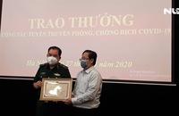 Báo Người Lao Động trao 100 triệu đồng tặng Bộ đội Biên phòng