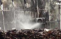 Bạc Liêu: Cháy lớn ở cơ sở sản xuất thùng xốp, thiệt hại hàng tỉ đồng