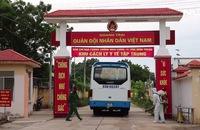 Đón 230 công dân Việt Nam từ Malaysia về Ninh Thuận