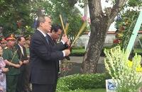 Lãnh đạo TP HCM tưởng niệm 100 năm Ngày sinh của Đại tướng, cố Chủ tịch nước Lê Đức Anh