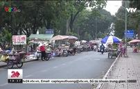Tái diễn tình trạng bán hàng rong tại công viên Gia Định