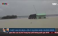 Quảng Nam: Mưa chưa có dấu hiệu dừng, nhà dân ngập sâu trong biển nước