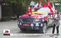 Người dân Hà Nội chuẩn bị cổ vũ cho trận chung kết lượt về AFF Cup 2018