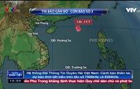 Bão số 3 vẫn di chuyển rất nhanh, tâm bão đổ bộ trực tiếp Hải Phòng - Hà Tĩnh