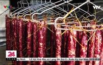 """Thủ đoạn """"phù phép"""" lợn chết thành đặc sản trâu gác bếp, lợn hun khói"""