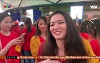 Cổ động viên tại Dubai vỡ òa trước chiến thắng của Đội tuyển Việt Nam