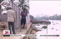 Nan giải tình trạng lấn chiếm bờ sông Sài Gòn