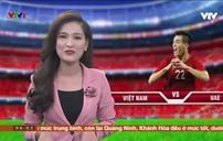 Người hâm mộ mừng chiến thắng của đội  tuyển Việt nam sau trận đấu với UAE