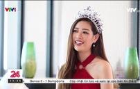 Gặp gỡ tân Hoa hậu Hoàn vũ Việt Nam 2019