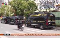 Xe dù núp bóng xe hợp đồng vẫn lộng hành trên các tuyến phố Hà Nội