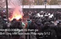 Hơn 800.000 người tham gia đình công tại Pháp