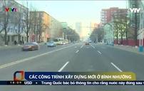 Nhiều công trình kiến trúc mới được xây dựng ở Bình Nhưỡng