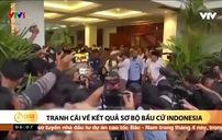 Đối thủ ông Joko Widodo không công nhận kết quả đếm nhanh phiếu bầu
