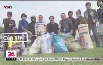 Đạp xe xuyên Việt nhặt rác
