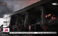 Bình Dương: Cháy lớn ở khu công nghiệp Mỹ Phước 2 của thị xã Bến Cát