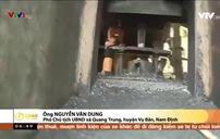 Nam Định: Bất cập xưởng rèn giữa khu dân cư